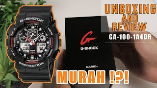 UNBOXING AND REVIEW G-Shock GA-100-1A4DR