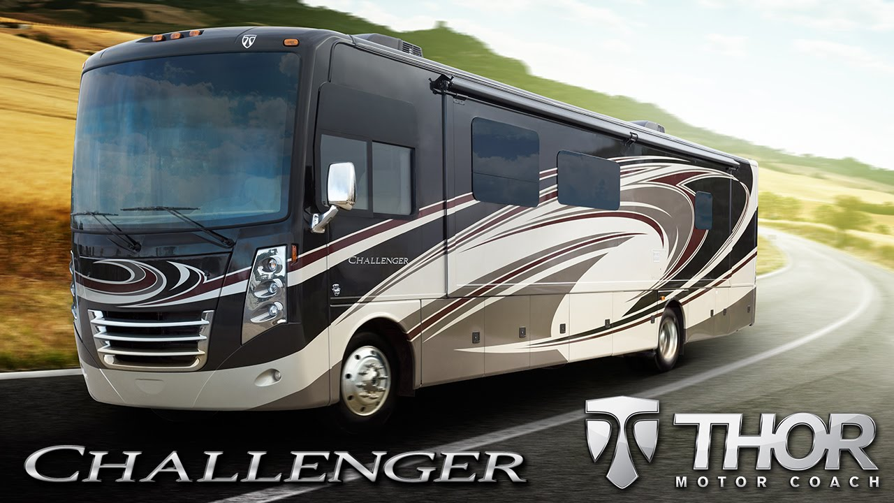 2015 challenger luxury gas class a motorhomes from thor motor coach rh youtube com thor motorhomes uk thor motorhomes for sale by owner