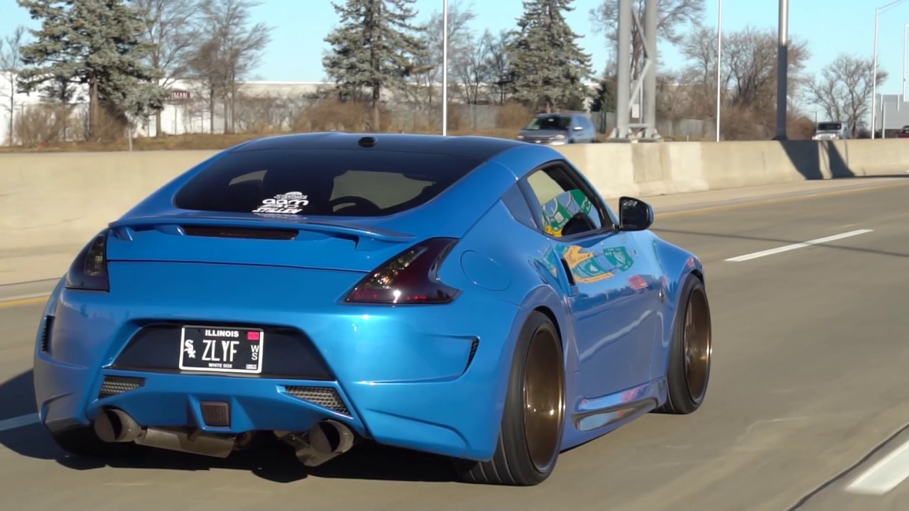 Amuse Nissan 370z Rolling Youtube