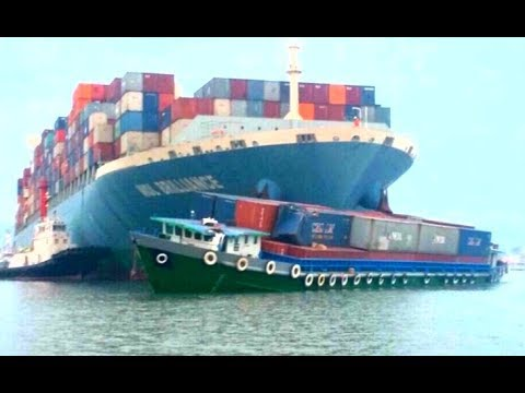 Top 10 Crashes large ships! Collision ships