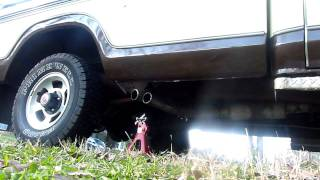 1979 F150 with Flowmaster 40 Series Muffler