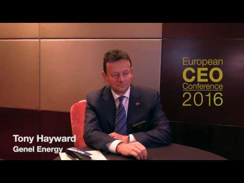 European CEO Confercence 2016 - Tony Hayward Interview