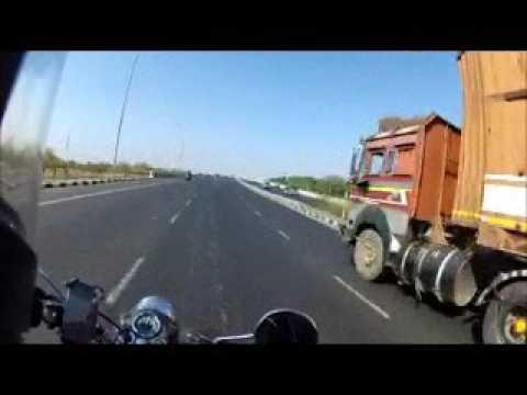 Ride on highway NH8   vadodra to Joshikuva