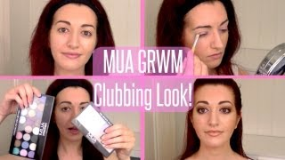 ♥ MUA Makeup Academy Tutorial! Get Ready With Me & Chit Chat | Clubbing Makeup Tutorial ♥ Thumbnail