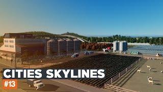 Cities Skylines | #13 | Black Lake | ROLNIKIEM BYĆ!