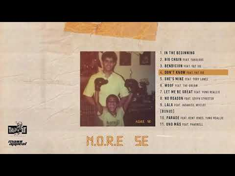 N.O.R.E. Don't Know (Ft. Fat Joe) Artwork
