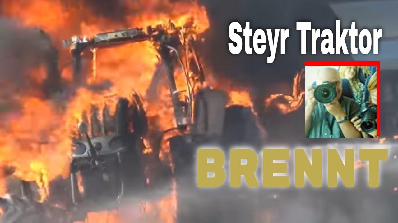Beliebt Bevorzugt Feuerwehr löscht brennenden Traktor | Traktoren im Einsatz | - YouTube #DB_18
