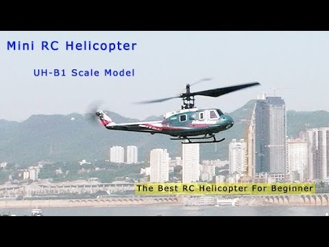 UH-1B Huey 4CH MiNi RC Helicopter - Best Beginner RC Helicopter
