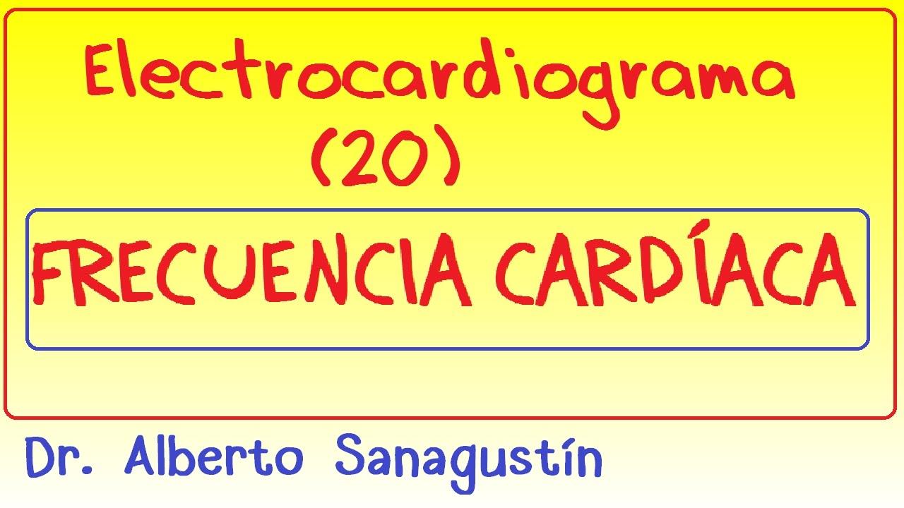 Electrocardiograma (20): Frecuencia cardíaca (cálculo) - YouTube