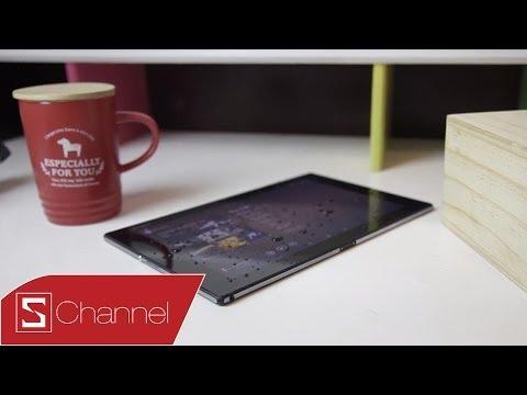 Schannel - Đánh giá chi tiết Xperia Z2 Tablet : Thiết kế, màn hình, hiệu năng...