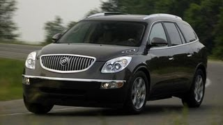 2008 Buick Enclave - First Drive Review - CAR and DRIVER
