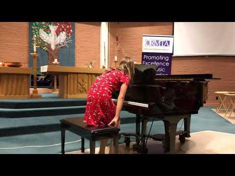 Maestro Big Guppy plays Starfish for the Ontario Music Teachers Association celebrate Canada recital