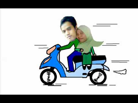 animasi naik motorwmv  YouTube
