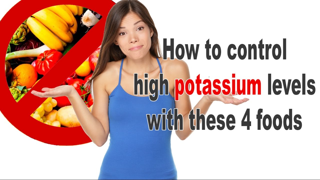 Potassium Free Foods