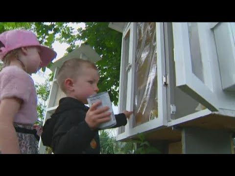 Keith and Tony - Good News: Idaho Family Builds Neighborhood Food Pantry