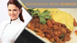 Enchiladas From Scratch | Mexican Enchiladas | Shipra Khanna Recipes
