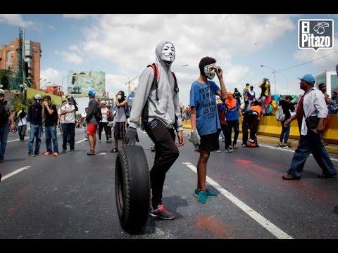 18May | ASÍ FUE LA MARCHA Y LA REPRESIÓN EN CARACAS | Yo Spy Oliver Castillo