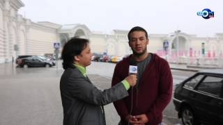 Интервью  актера Улугбека Кадырова  телеканалу UzTvRus