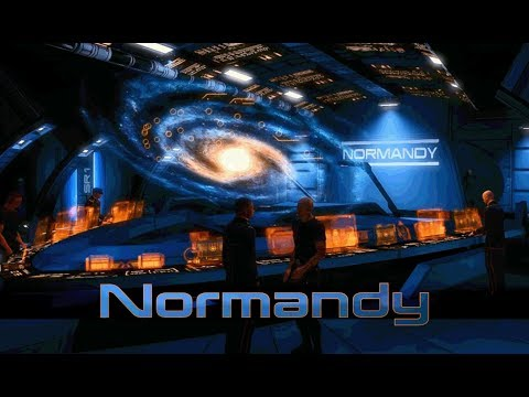 Mass Effect - Normandy: Combat Information Center [with music] (1 Hour of Ambience)