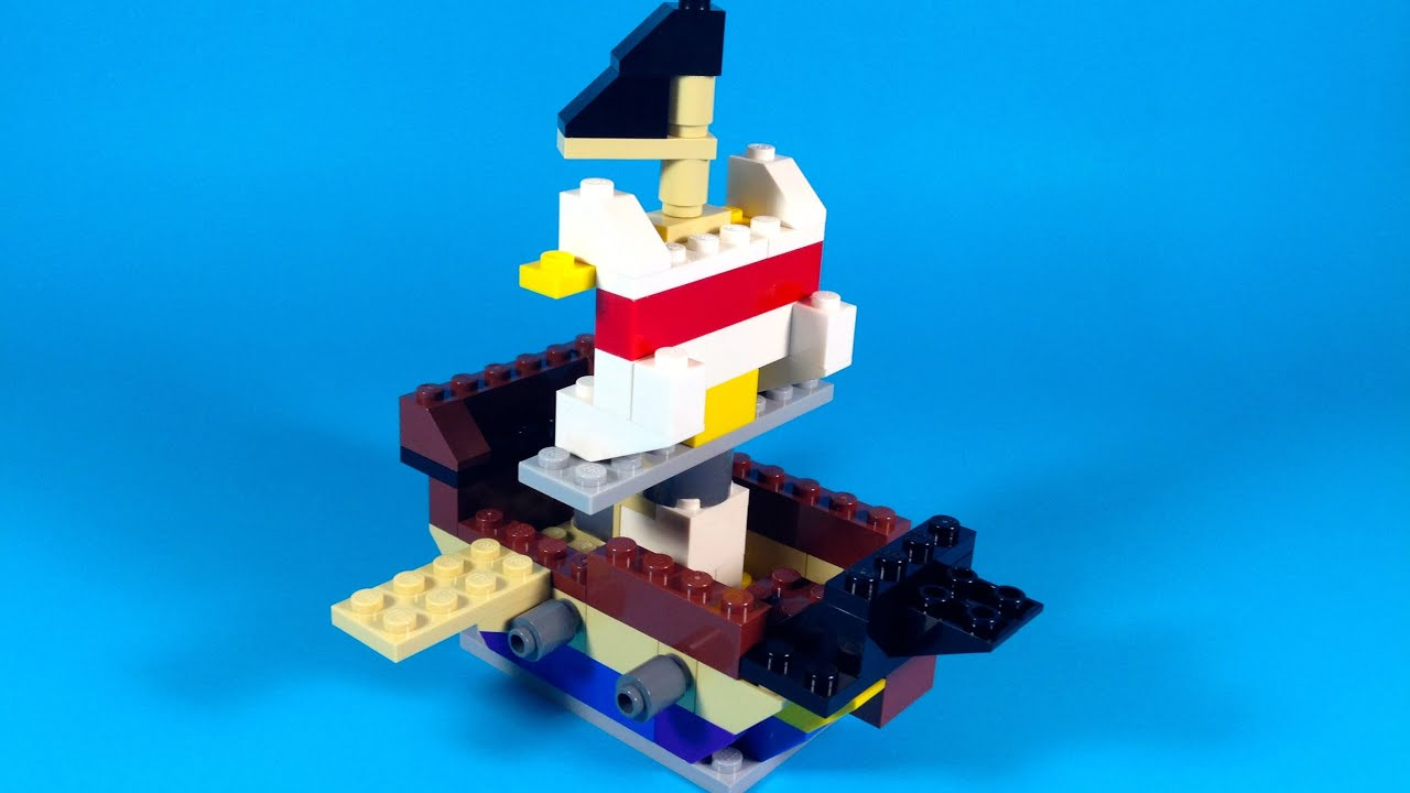 How To Build Lego PIRATE SHIP