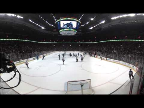 360º NHL Highlight: Tanev scores 34 seconds into OT to lift Canucks past Flames