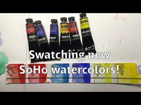 Product Review- SoHo watercolors