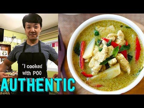 Authentic Thai Recipes: Pad Thai, Pad Siew Ew, Green Curry