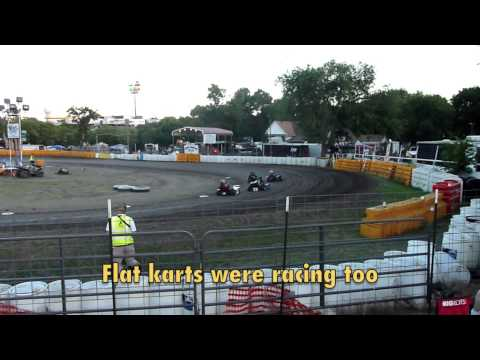 Kam Kartway - Rhome, Texas - Caged kart racing action!