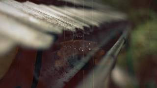 Cello - with Rain on a Tin Roof ambiance.  Music for relaxation