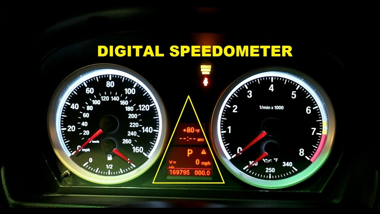 How To Code For Digital Speedometer On An E90 BMW Using ...