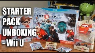 Disney Infinity Starter Pack Unboxing -Wii U