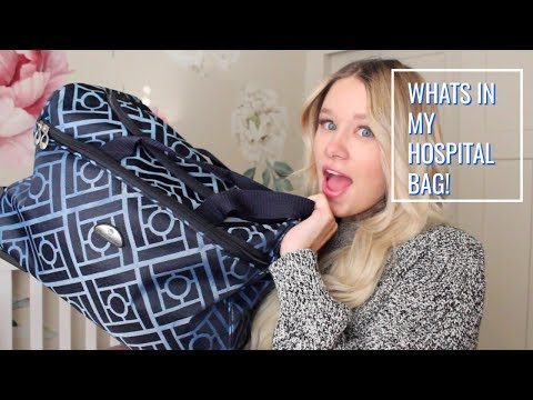 whats-in-my-hospital-bag- -labor-and-delivery- -first-time-mom!