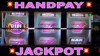 💥Handpay JACKPOT💥 Triple Golden Cherries Slot Machine 🎁 HANDPAY JACKPOT🎁  | Slot MASSIVE WIN