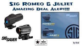 Sig Romeo & Juliet Combo Amazing Deal Alert!!!