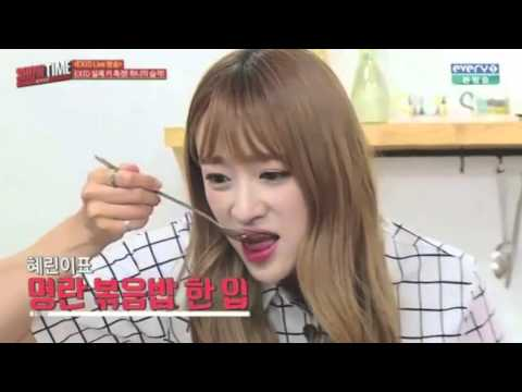 EXID Funny Clip #219- Revealing Their True Heights