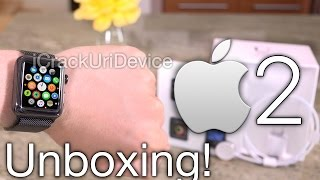 Apple Watch Series 2: Unboxing & Review! ( Watch 2)(Unboxing Apple Watch Series 2! The New Apple Watch 2 Reviewed and Unboxed in this quick Video. Featuring a Dual-Core SiP, Waterproofing up to 50m and ..., 2016-09-17T18:15:53.000Z)
