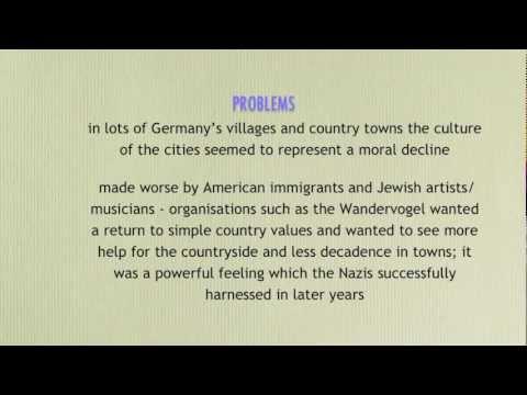 Weimar Republic - GCSE History