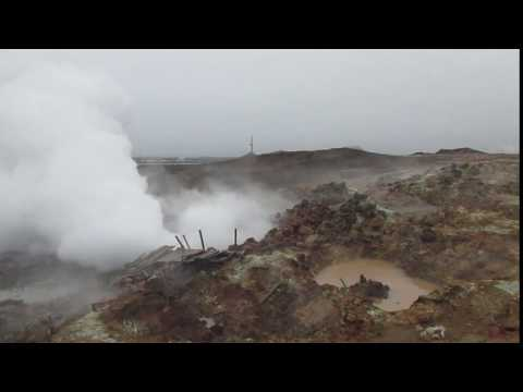 Iceland Gunnuhver Geo