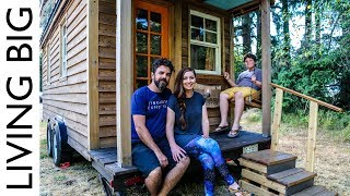 Life In The World's Most Traveled Tiny House thumbnail