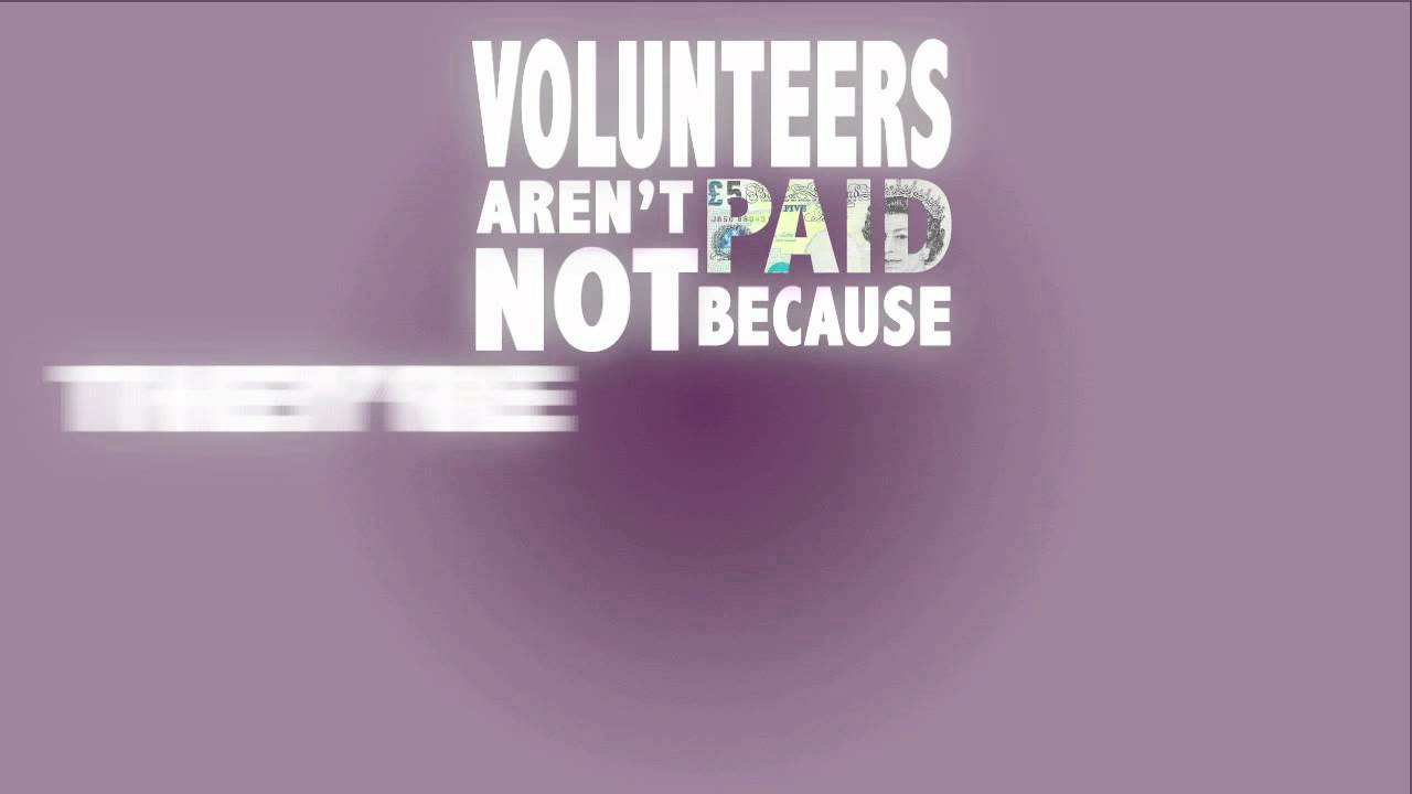 Quotes On Volunteering Volunteering Quote  Kinetic Typography  Youtube