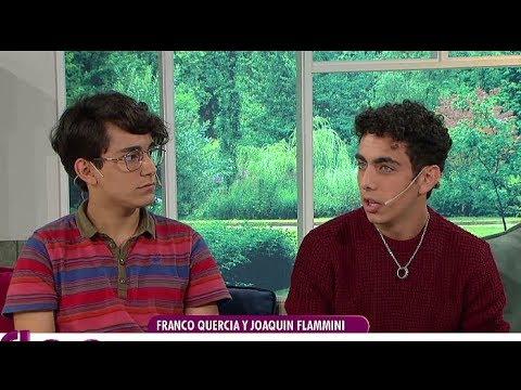 """Franco Quercia y Joaquín Flammini, la pareja gay de """"Argentina, Tierra de amor y venganza"""""""