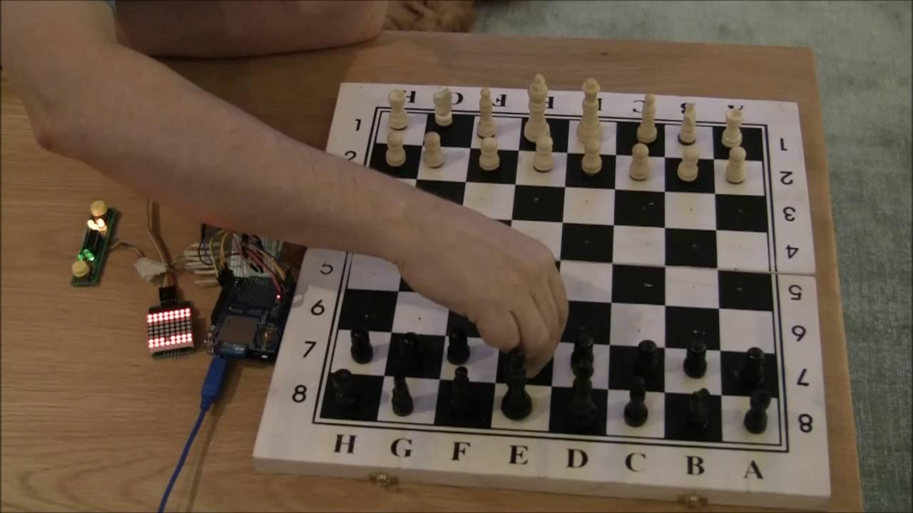Smart Chess board Arduino project