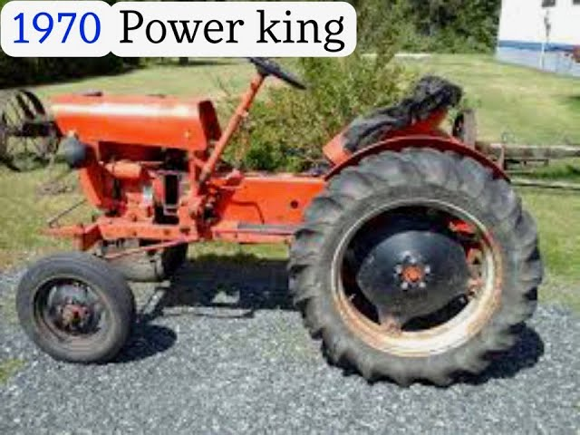 Economy Power King 1970 With Snow Plow Great Tractor Youtube