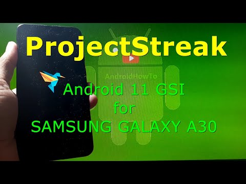 ProjectStreak Android 11 for Samsung Galaxy A30