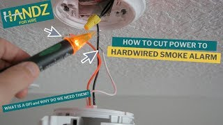 Turn OFF POWER on a Hardwired SMOKE ALARM and Live to Tell about it