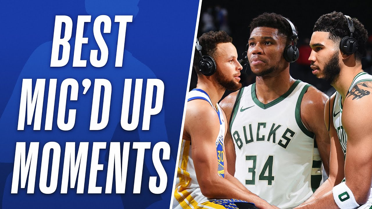 Best of Mic'd Up Moments from the 2020-21 Regular Season! 🎤