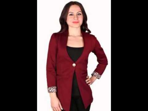 470ada10d احدث جواكت حريمي صيفى 2014 . Women's jackets - YouTube