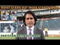 Rohit stars but India starts weak   Pakistan fail with bat   Ramiz Speaks