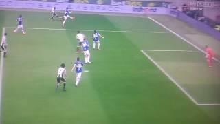 Sampdoria-Juventus gol Cuadrado