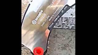 Комплект тормозных колодок TOUREG (7P5)  CAYENN от 2010г.-